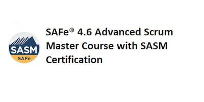 SAFe® 4.6 Advanced Scrum Master with SASM Certification 2 Days Training in Sydney