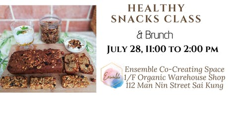 Healthy Snacks Cooking Class & Brunch tickets
