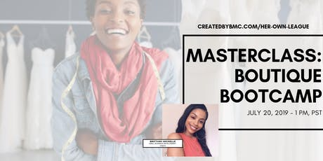 FREE MASTERCLASS: Boutique Bootcamp tickets