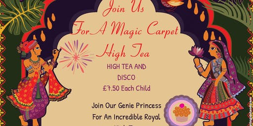 Magic Carpet High Tea