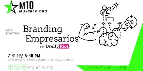 Branding para pequeños empresarios tickets