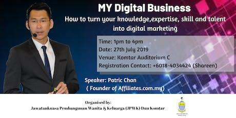 MY Digital Business tickets