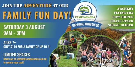 Camp Kokoda Family Fun Day