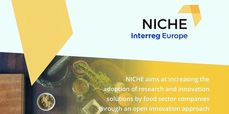 Innovation in the food  sector - NICHE outcomes  in 7 European Regions tickets