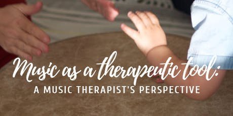 Music as a Therapeutic Tool: A Music Therapist's Perspective tickets