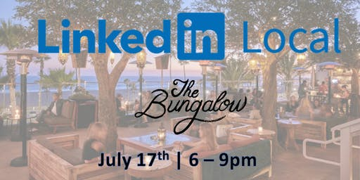 Linkedin Local - Silicon Beach: Sunset Cocktails