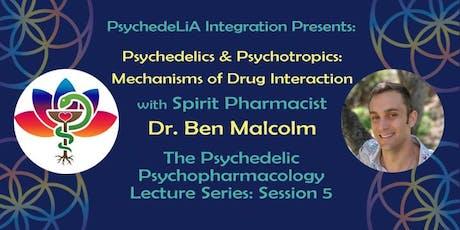 Psychedelics & Psychotropics: Mechanisms of Drug Interaction entradas