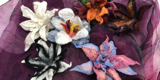 Fantasy Felted Flowers