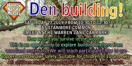 Den Building In The Woods tickets