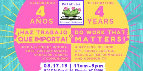 Do Work That Matters: Palabras' Anniversary Event tickets