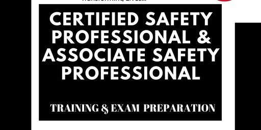 CERTIFIED SAFETY PROFESSIONAL® & ASSOCIATE SAFETY PROFESSIONAL®