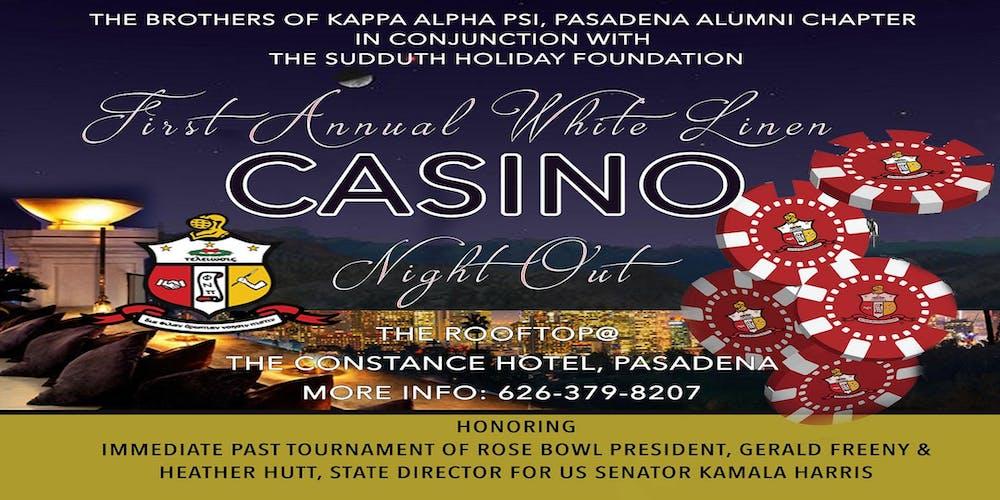 The Brothers of Kappa Alpha Psi, Pasadena Alumni Chapter presents