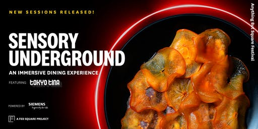 Sensory Underground: An immersive dining experience featuring Tokyo Tina