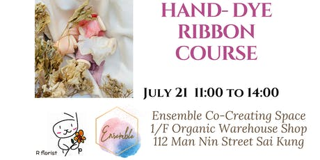 Hand Dye Silk Ribbon Course tickets