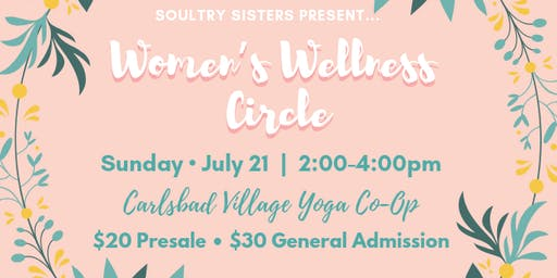 Soultry Sisters Present: Women's Wellness Circle