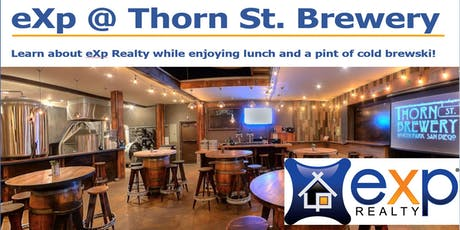 eXp @ Thorn St. Brewery tickets