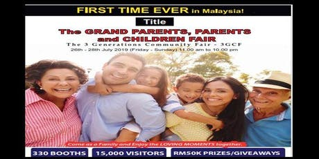 The GRAND PARENTS, PARENTS and CHILDREN Fair tickets