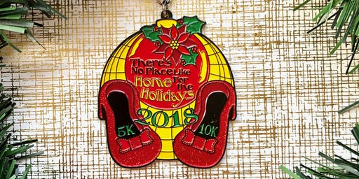 Now Only $8! No Place Like Home for the Holidays 5K & 10K-Arlington