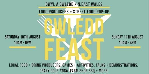 Gwledd | Feast. N.E Wales Food + Drink Producers festival + BBQ