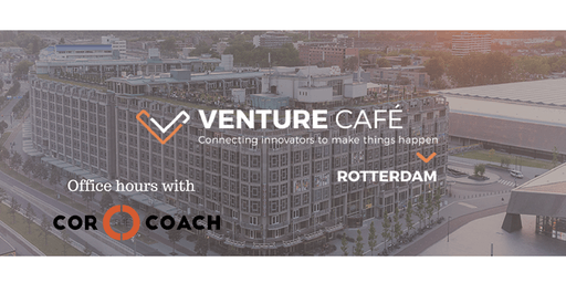 Start up Coaching with Cor the Coach - Venture Café -  18th of July 2019