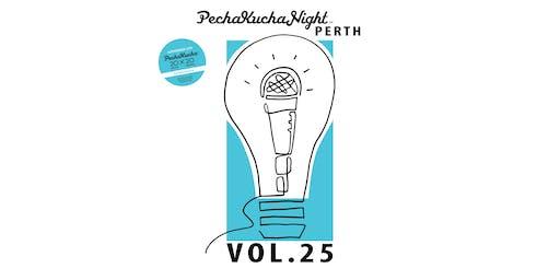 PechaKucha Perth Vol.25 - IQX UWA