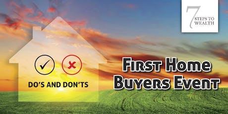 First Home Buyers 30 JULY 19 - Bundoora, VIC tickets