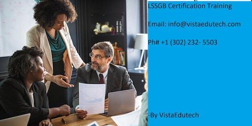 Lean Six Sigma Green Belt (LSSGB) Certification Training in Portland, ME