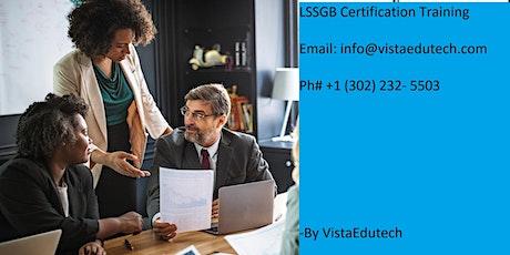 Lean Six Sigma Green Belt (LSSGB) Certification Training in Santa Barbara, CA tickets