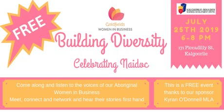 Building Diversity: Celebrating Naidoc tickets