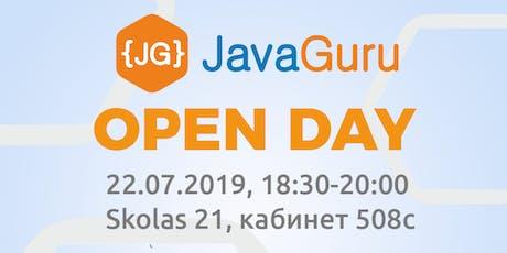 {FREE} JavaGuru Open Day 22.07.2019 tickets