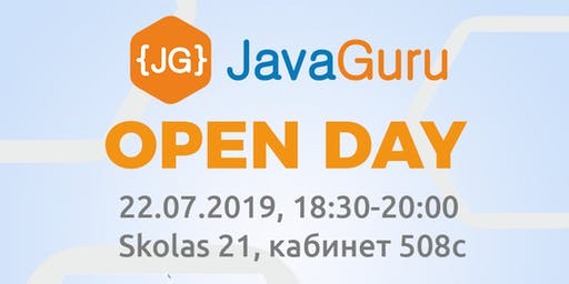 {FREE} JavaGuru Open Day 22.07.2019