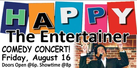 HAPPY's Comedy Concert tickets