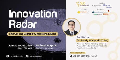 [PAID EVENT] INNOVATION RADAR - Find Out the Secret of 12 Marketing Signals tickets