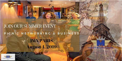 IMN PARIS Social Event of August : Picnic Networking & Business