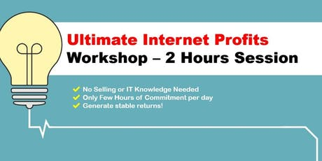 Make Money Online Without Selling Products or Creating Websites tickets