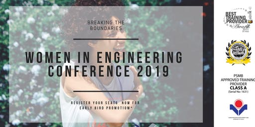 [HRDF claimable*] Women in Engineering 2019
