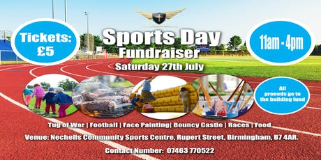NCM Sports Day tickets