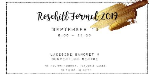 Rosehill Formal 2K19