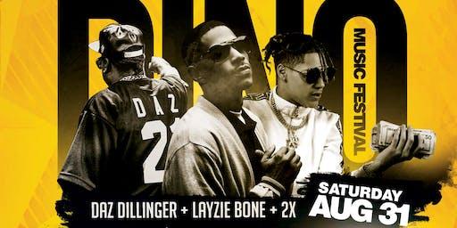 2019 Dino Music Festival | Daz Dillinger, Layzie Bone & 2x