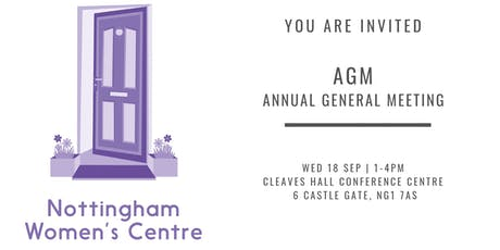 Nottingham Women's Centre AGM - celebrating our accomplishments 2018-2019 tickets
