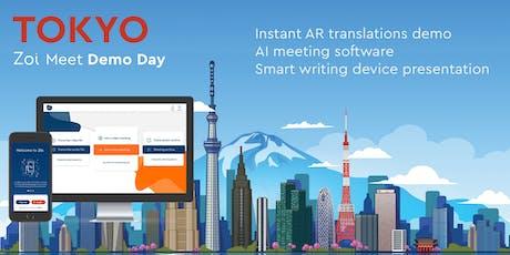 Zoi Meet Demo Day (live transcribing/translating software) tickets