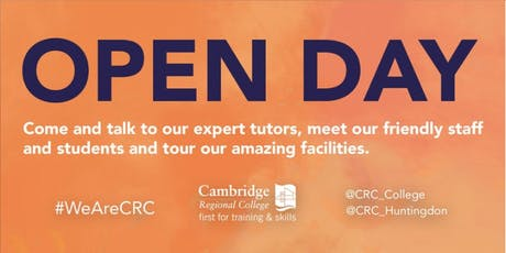 CRC Huntingdon Open Day  tickets