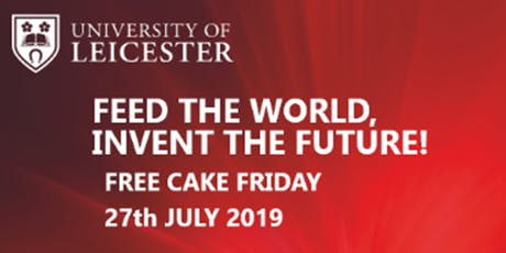Free Cake Friday at the Leicester Innovation Hub  tickets