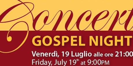 La notte del Gospel a Firenze! biglietti