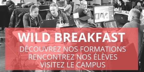 Wild Breakfast - Présentation Ecole & Formations - Wild Code School Lyon billets