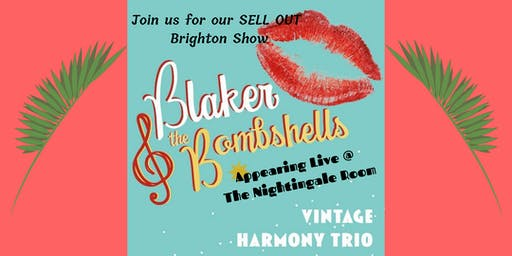 Blaker & The Bombshells Live in Brighton