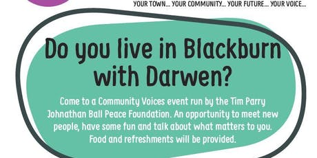 Community Voices - Darwen Heritage Centre tickets