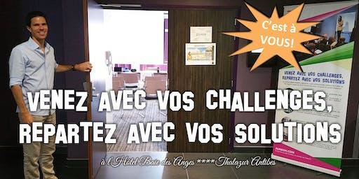 Venez avec vos challenges, repartez avec vos solutions #6