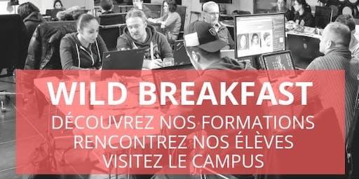 Wild Breakfast - Présentation Ecole/Formation - Wild Code School Strasbourg