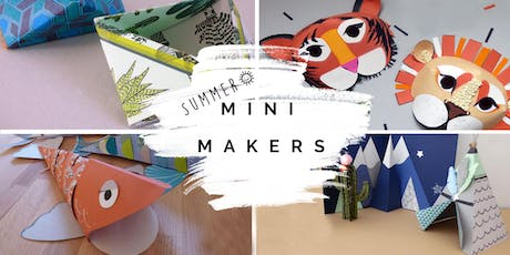 Mini Makers (aged 4-10) Summer crafting @ Crafts and Makes, Didsbury tickets